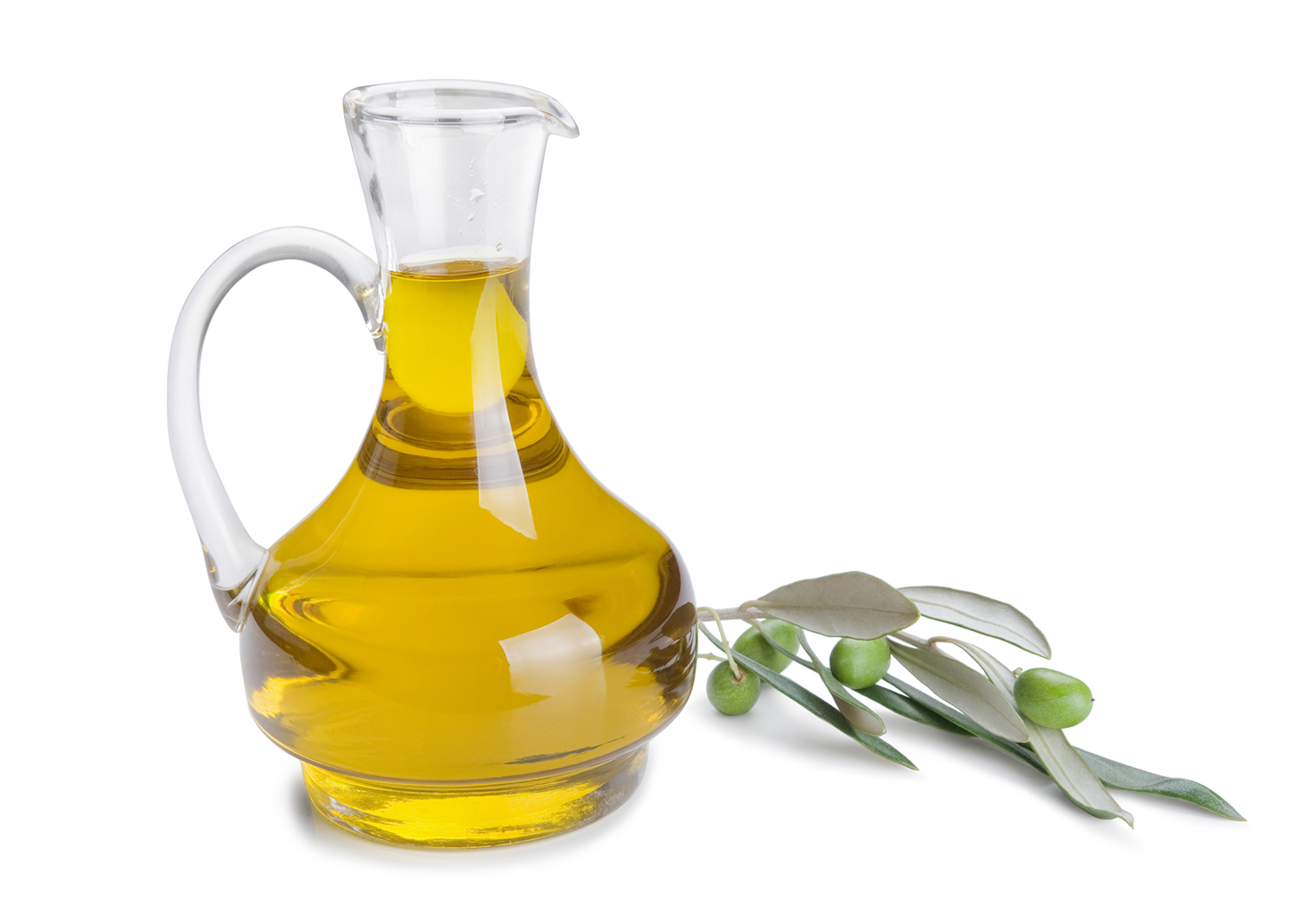 A stroke of luck: Olive oil